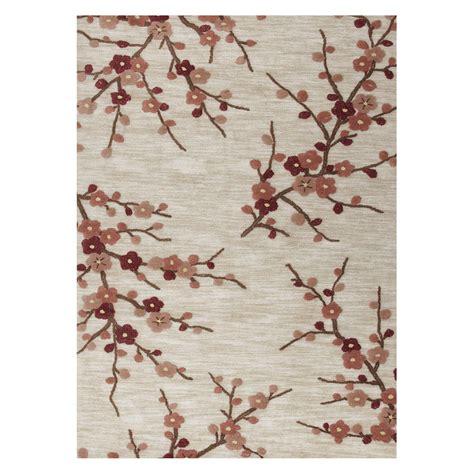 Cherry Blossom Area Rug Jaipur Brio Tufted Cherry Blossom Area Rug Area Rugs At Hayneedle