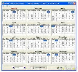 1 Calendar Year Means 10 Year Calendar Printable Printable Calendar