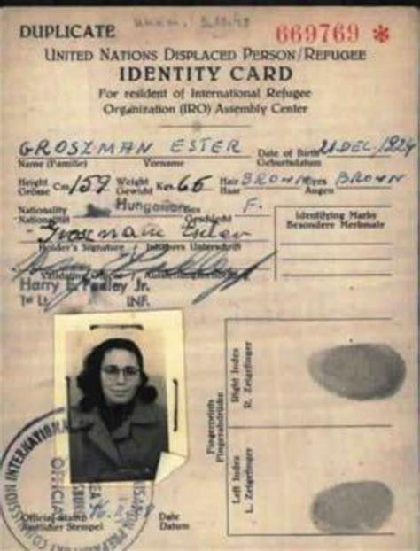 printable holocaust id cards liberation and postwar united states holocaust memorial