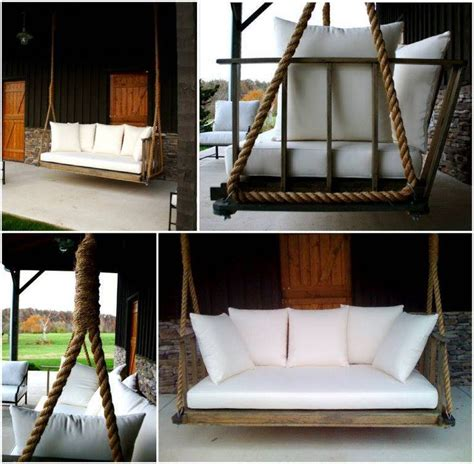 how to build a bed swing best 25 porch swing beds ideas on pinterest porch