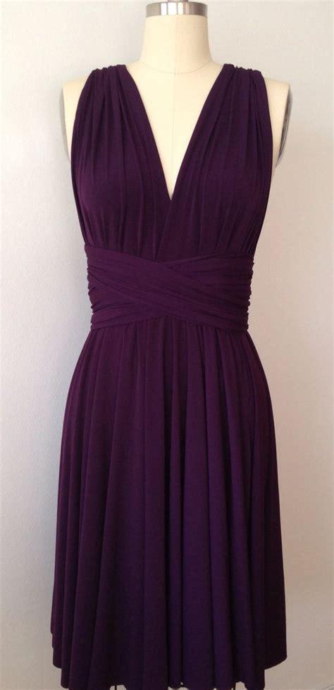 eggplant colored dress best 25 convertible bridesmaid dresses ideas on