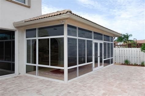 affordable enclosed porch kits enjoying the scenery with