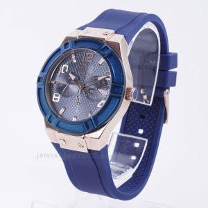 Jam Guess Blue Wanita harga sarap jam tangan guess u0571l1 karet biru