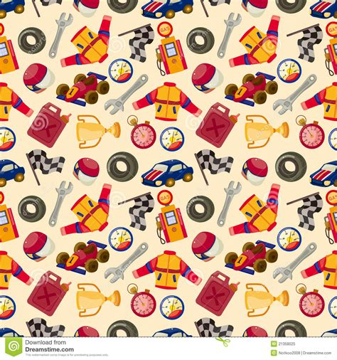 F1 Pattern Stock | seamless f1 racing pattern stock vector image of colorful
