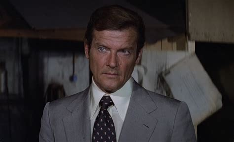 roger moore shoulders the suits of james bond