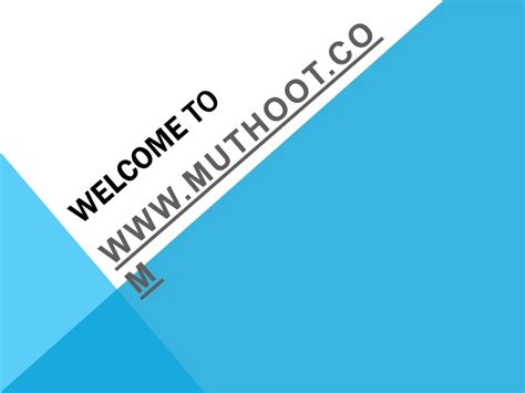 muthoot finance housing loan muthoot finance india finance company in india housing