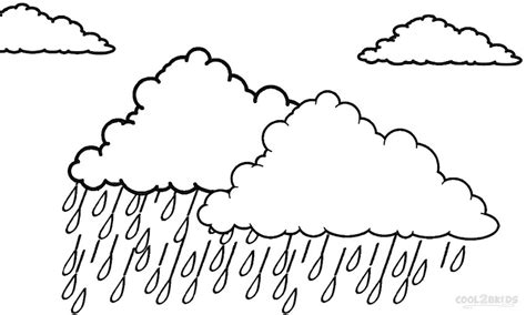 coloring page rain printable cloud coloring pages for kids cool2bkids