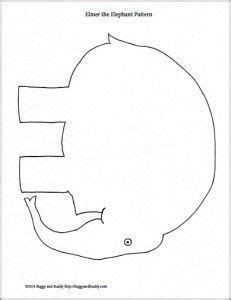 Elmer The Elephant Template by 25 Best Ideas About Elephant Template On