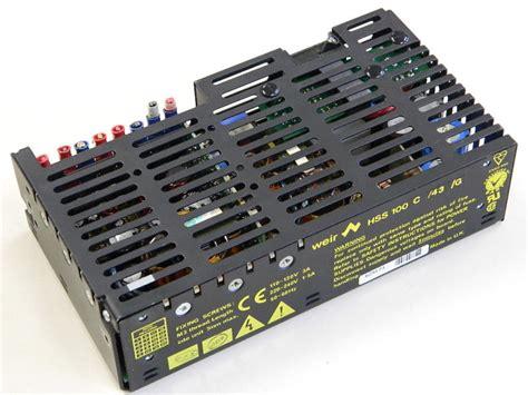 alimentatore 15v power supply weir hss 100 c 43 g 24v 15v 15v 5v