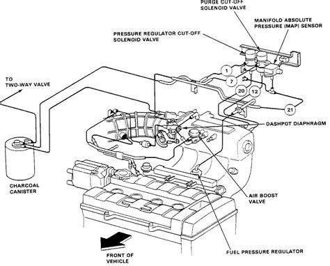 integra ba vacuum diagram  dashpot valve