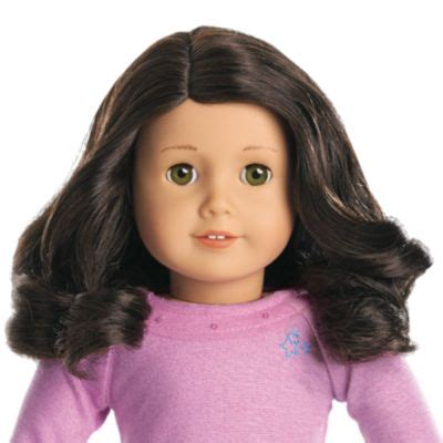 American Hair Style Books For Sale by Truly Me Doll Light Skin Curly Blackbrown Hair Green