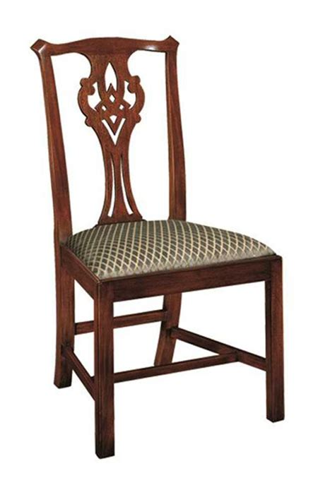 henkel harris chippendale side chair 102s