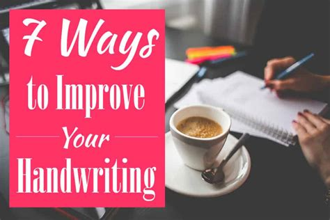 7 Ways To Improve Your Confidence by 7 Ways To Improve Your Handwriting Today Littlecoffeefox
