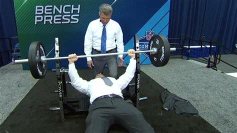 bench press motion schefter s bench press too good to be true watchespn