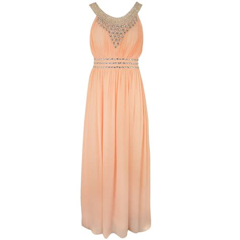 chiffon prom bridesmaid formal dress evening