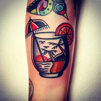 cocktail tattoo designs 10 best cocktail tattoos images on