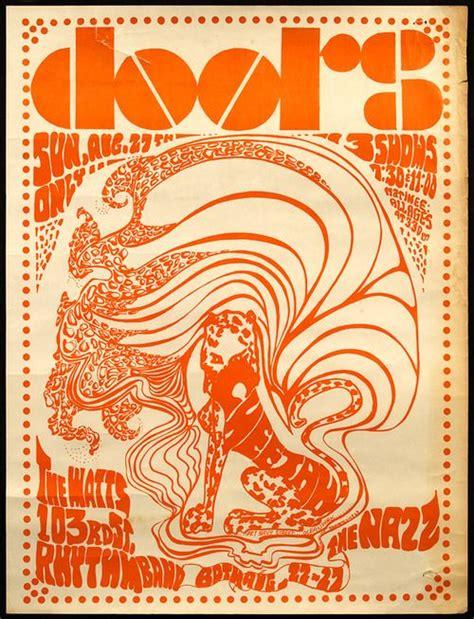 The Doors Poster concert poster the doors