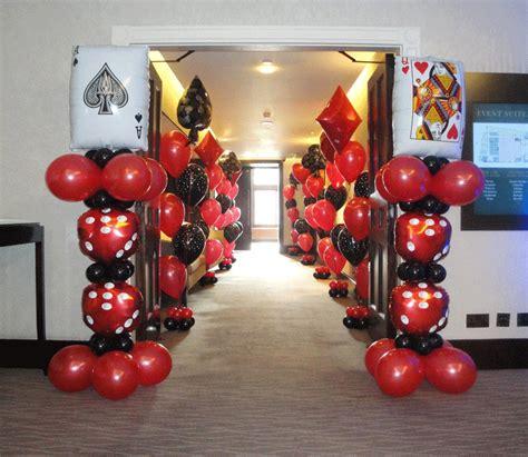 casino balloon decor search casino theme