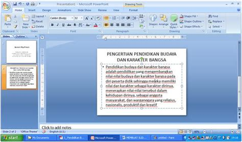 cara membuat film pendek dari power point membuat slide presentasi menggunakan ms power point 2007