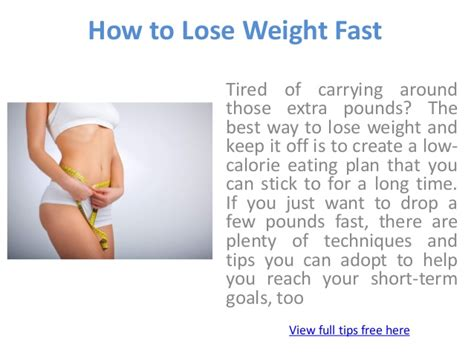 How To Lose Weight If How To Lose Weight Fast
