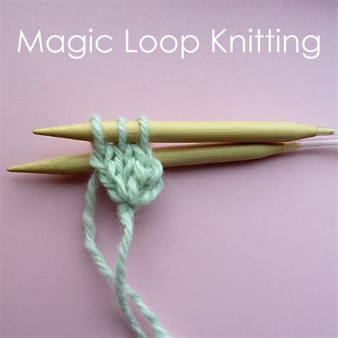 magic circle knitting circular cast on and magic loop knitting craft me happy