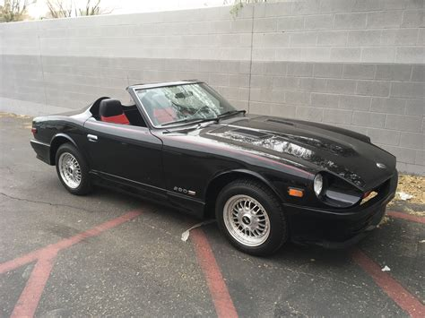 vintage datsun convertible z car source restoration 1977 datsun 280z