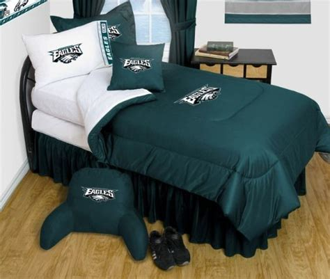 philadelphia eagles comforter philadelphia eagles nfl bedding complete set twin w 1
