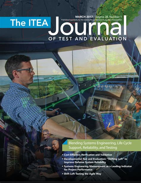 the itea journal of test and evaluation march 2017 vol