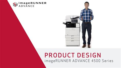 product layout youtube product design imagerunner advance 4500 series youtube