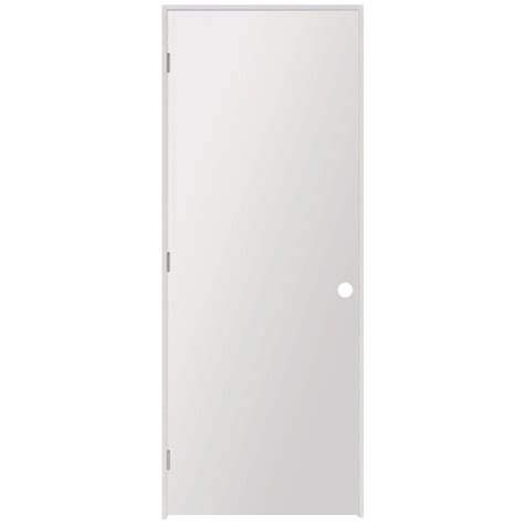 Home Depot White Interior Doors Steves Sons 36 In X 80 In Flush Hollow Primed White Composite Single Prehung Interior