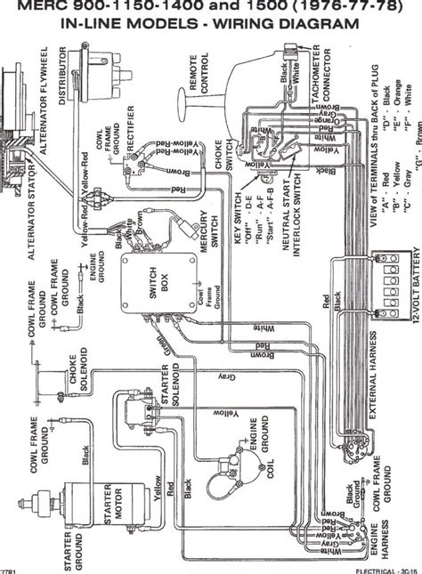 mercury boat motors wiring diagram 28 images 40 hp