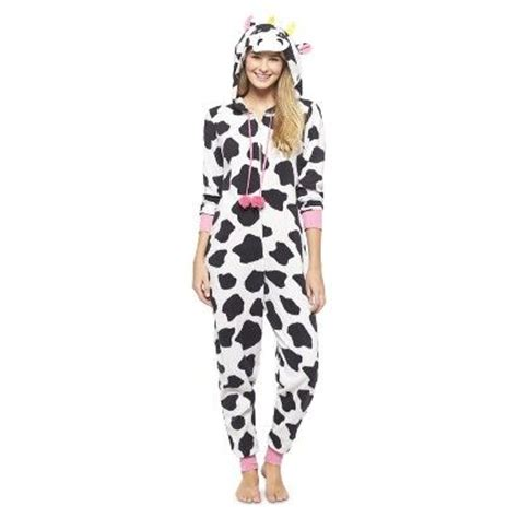 Piyama Dewasa Cow Skin Black Pajamas s cow footie pj white black umm these or any footies would be so peterson