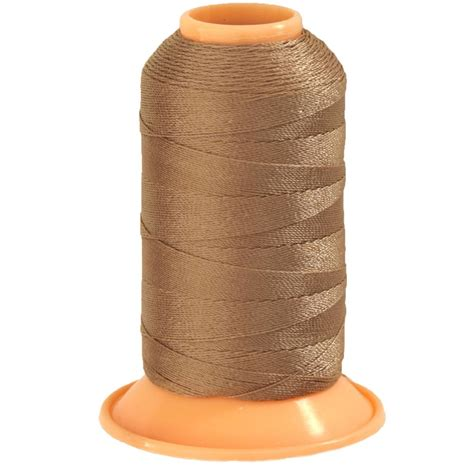 Upholstery Thread by Gutermann Polyester Upholstery Thread 300m 328yds Beige