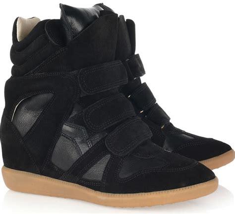 rihanna high top sneakers rihanna wearing marant bekket high top suede and