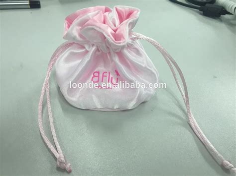 pattern for fabric jewelry pouch round bottom satin fabric drawstring jewelry pouch pattern