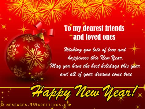 new year greeting message in new year messages for friends 365greetings