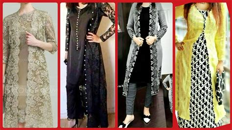 latest top designer casual party wear gown style open