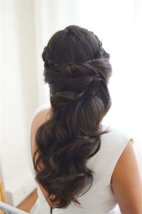 wedding hairstyles long brunette wedding hairstyles long brown hair for your own home