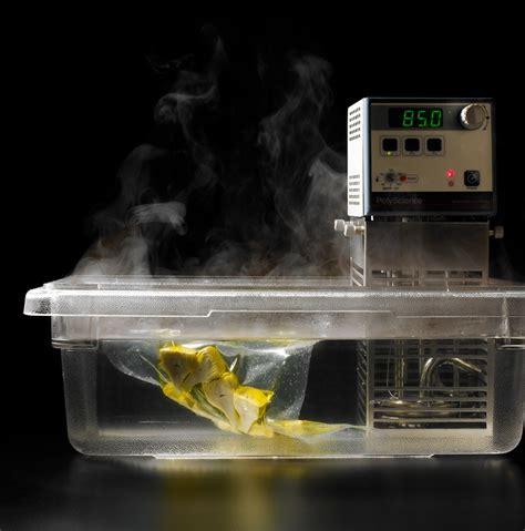 cuisine sous vide food science sous vide