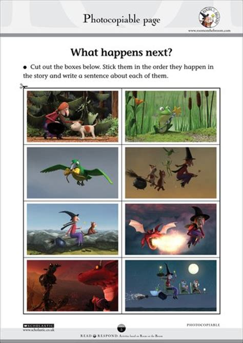 room on the broom pdf room on the broom what happens next free early years teaching resource scholastic