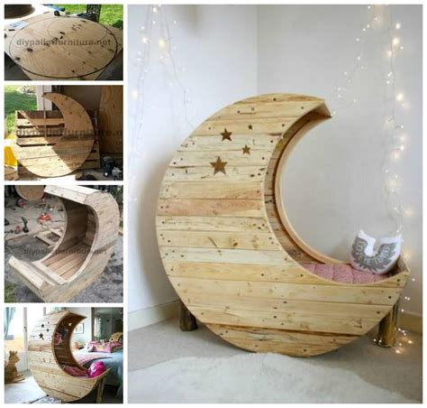 Diy Moon Cot Baby Cradle - diy moon pallet crib pictures photos and images for