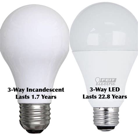 Led Vs Regular Light Bulb 3 Way Light Bulb 40w 2700k Fluorescent Light Bulb Philips 100 To 300w 120v Ps25 Soft White 3