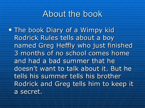 book report on diary of a wimpy kid cabin fever a book report for diary of a wimpy kid