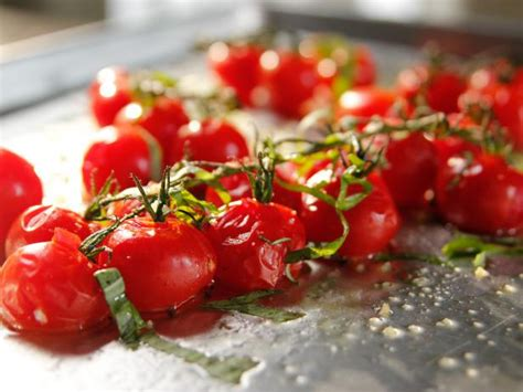 roasted cherry tomatoes ina garten roasted vine tomatoes recipe ina garten food network