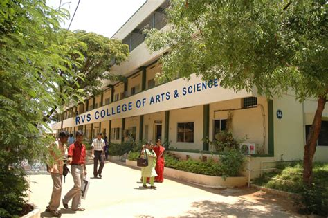 Top 10 Mba Colleges In Coimbatore by Rvs College Of Arts And Science Coimbatore Cus 1