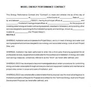 performance contract template 7 performance contract templates free word pdf