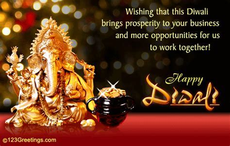 Diwali Wishes For Business Associate! Free Business