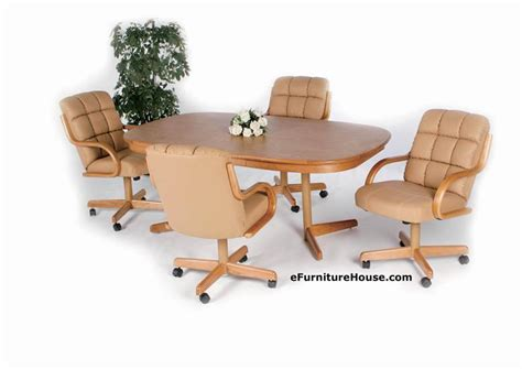 Dining Table And Chairs With Casters Dining Table Dining Table And Chairs With Casters