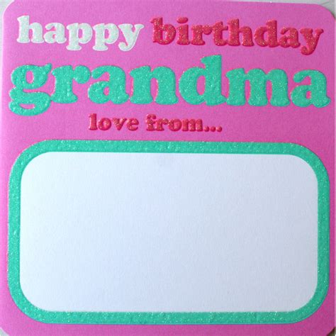 Happy Birthday Nana Cardsss Happy Birthday Grandma Card Amazingballoons Co Uk