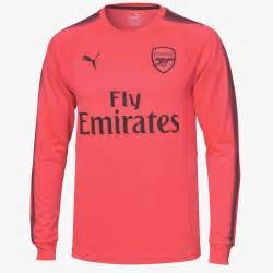 New Jersey Arsenal Away 20172018 arsenal 17 18 goalkeeper home away kits released footy
